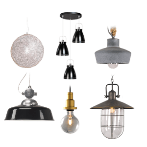 Binnenverlichting hanglampen