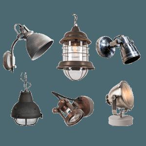 Binnenverlichting - Industriële en vintage verlichting